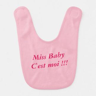 Babador De Bebe Babete Menina Baby é mim!!!