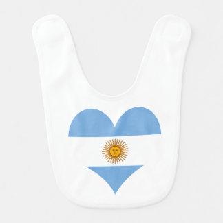 Babador De Bebe Bandeira de Argentina