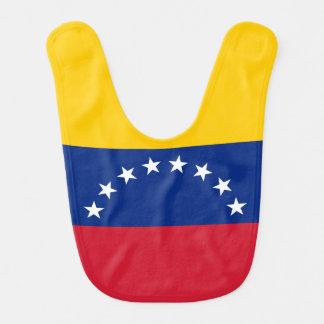 Babador De Bebe Bandeira de Venezuela