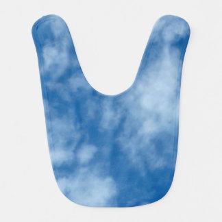 Babador De Bebe Céu azul com foto das nuvens