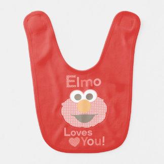 Babador De Bebe Elmo ama-o