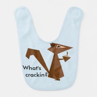 Babador De Bebe Esquilo de Brown o que é Crackin?