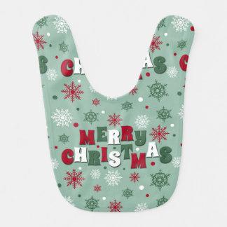 Babador De Bebe Feliz Natal