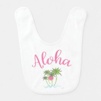 Babador De Bebe Férias havaianas do estilo das Aloha-Praias legal