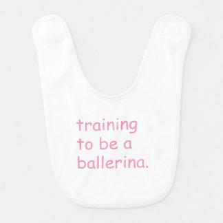 Babador De Bebe Formação a ser uma bailarina