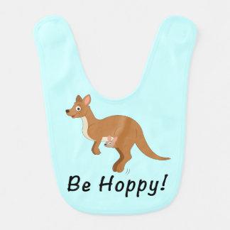 Babador De Bebe Mama e bebê do canguru: Seja Hoppy!