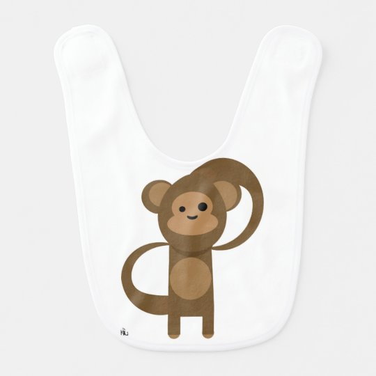 Babador De Bebe Monkey kid