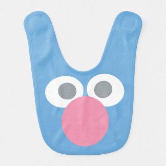 Babador De Bebe O bebê Grover enfrenta o teste padrão da forma