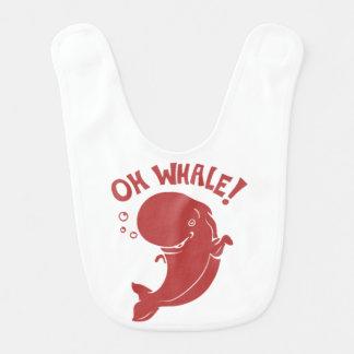 Babador De Bebe Oh baleia