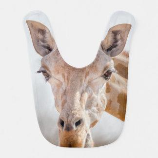 Babador De Bebe Olhar directamente nos olhos com o girafa