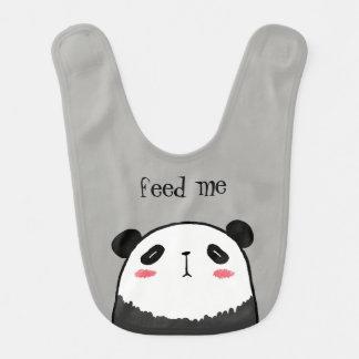 Babador De Bebe Panda preguiçosa