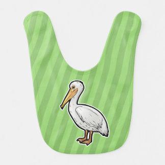Babador De Bebe Pelicano americano