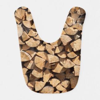 Babador De Bebe Pilha da madeira