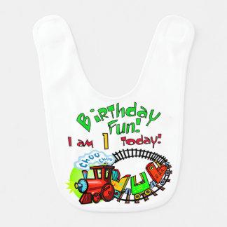 Babador De Bebe Primeiro aniversario do trem de Choo Choo