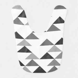 Babador De Bebe Triângulo moderno