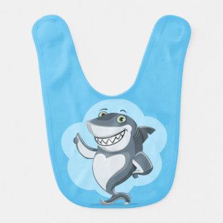 Babador De Bebe Tubarão feliz
