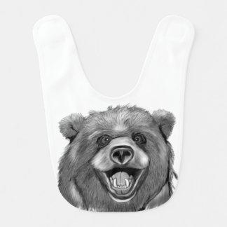 Babador De Bebe Urso feliz