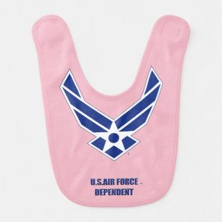 Babador dependente do bebê do U.S.A.F.