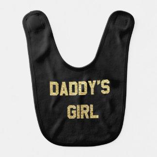 Babador do bebê da menina de Daddys