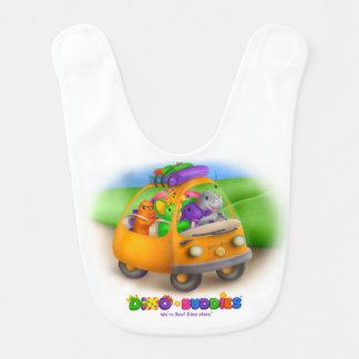 Babador do bebê de Dino-Buddies™ - viagem por