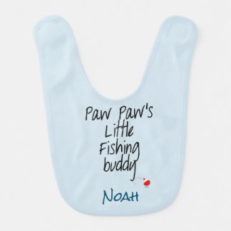 Babador do bebê do amigo da pesca da pata da pata