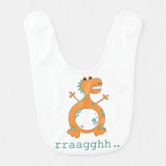 Babador do bebê do dinossauro