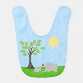 Babador do bebê do elefante