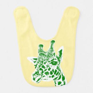 """Babador do bebê do """"girafa"""""""