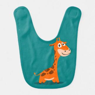 Babador do bebê do girafa do bebê