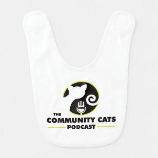 Babador do bebê do Podcast dos gatos da comunidade