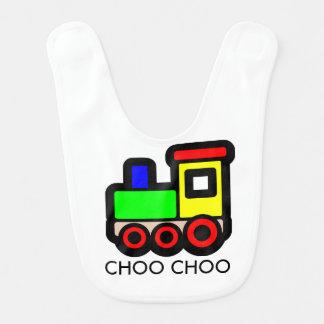 Babador do bebê do trem de Choo Choo
