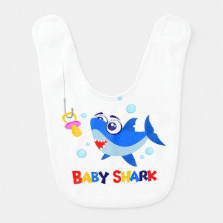 Babador do bebê do tubarão do bebê
