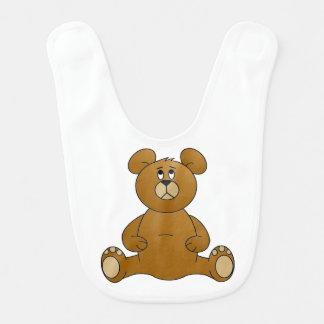 Babador do bebê do urso de ursinho dos desenhos