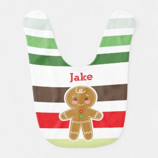 Babador do Natal do menino | do pão-de-espécie