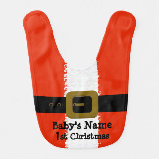Babador do papai noel do Natal do bebê ø