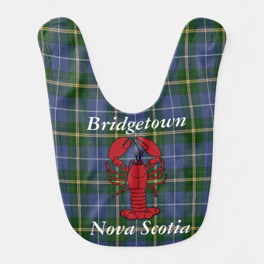 Babador do tartan de Bridgetown Nova Escócia do