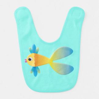 Babador dos peixes dos desenhos animados