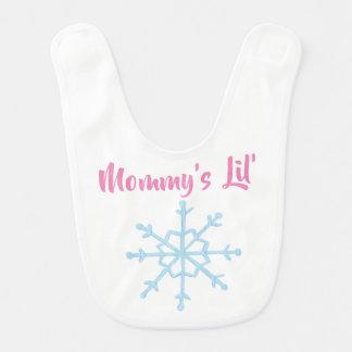 Babador Floco de neve do Lil da mamã