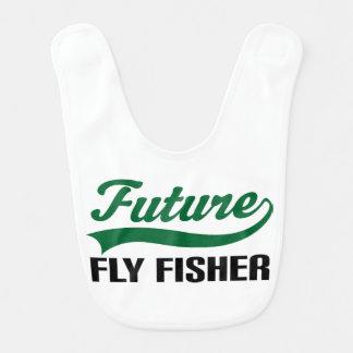Babador futuro do bebê de Fisher da mosca