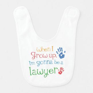 Babador futuro do bebê do advogado