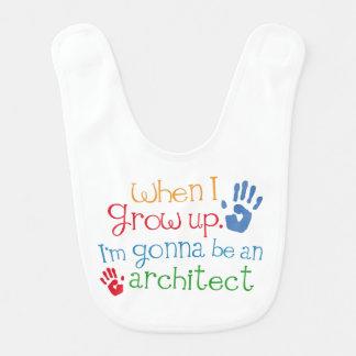 Babador futuro do bebê do arquiteto