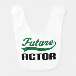Babador futuro do bebê do ator
