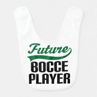 Babador futuro do bebê do jogador de Bocce