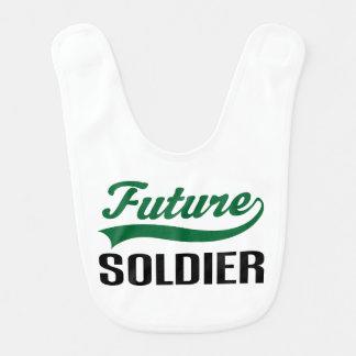 Babador futuro do bebê do soldado