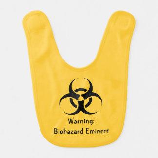 Babador Geek engraçado do biohazard fedido