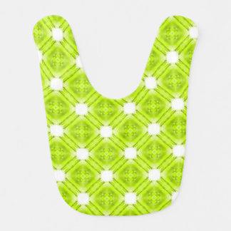 Babador Geométrico verde e branco do quivi