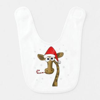 Babador Girafa do Natal