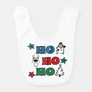 Babador Ho-Ho-Ho design do Natal