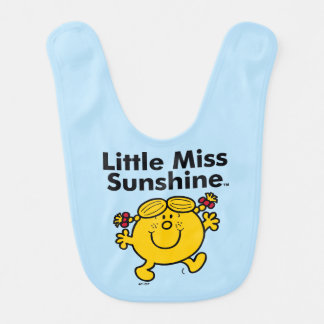 Babador Infantil A senhorita pequena pequena Luz do sol da