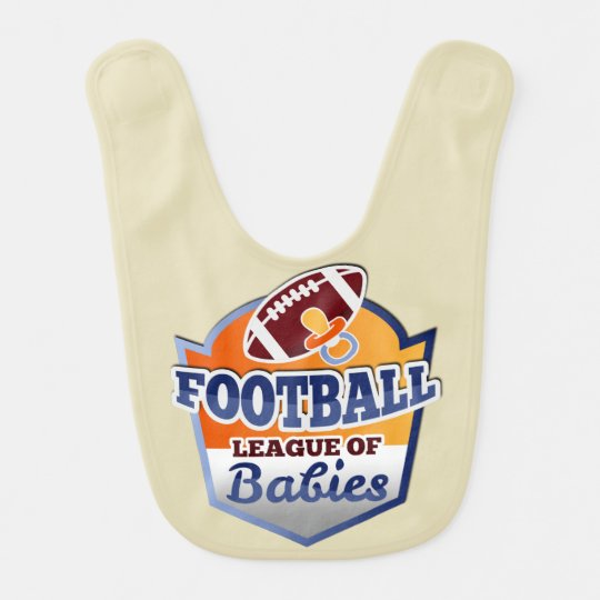 Babador Infantil American Football | League of Babies